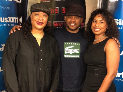 Dr. Lynn M. O'Connor featured with the hosts of SWAY in the Morning.