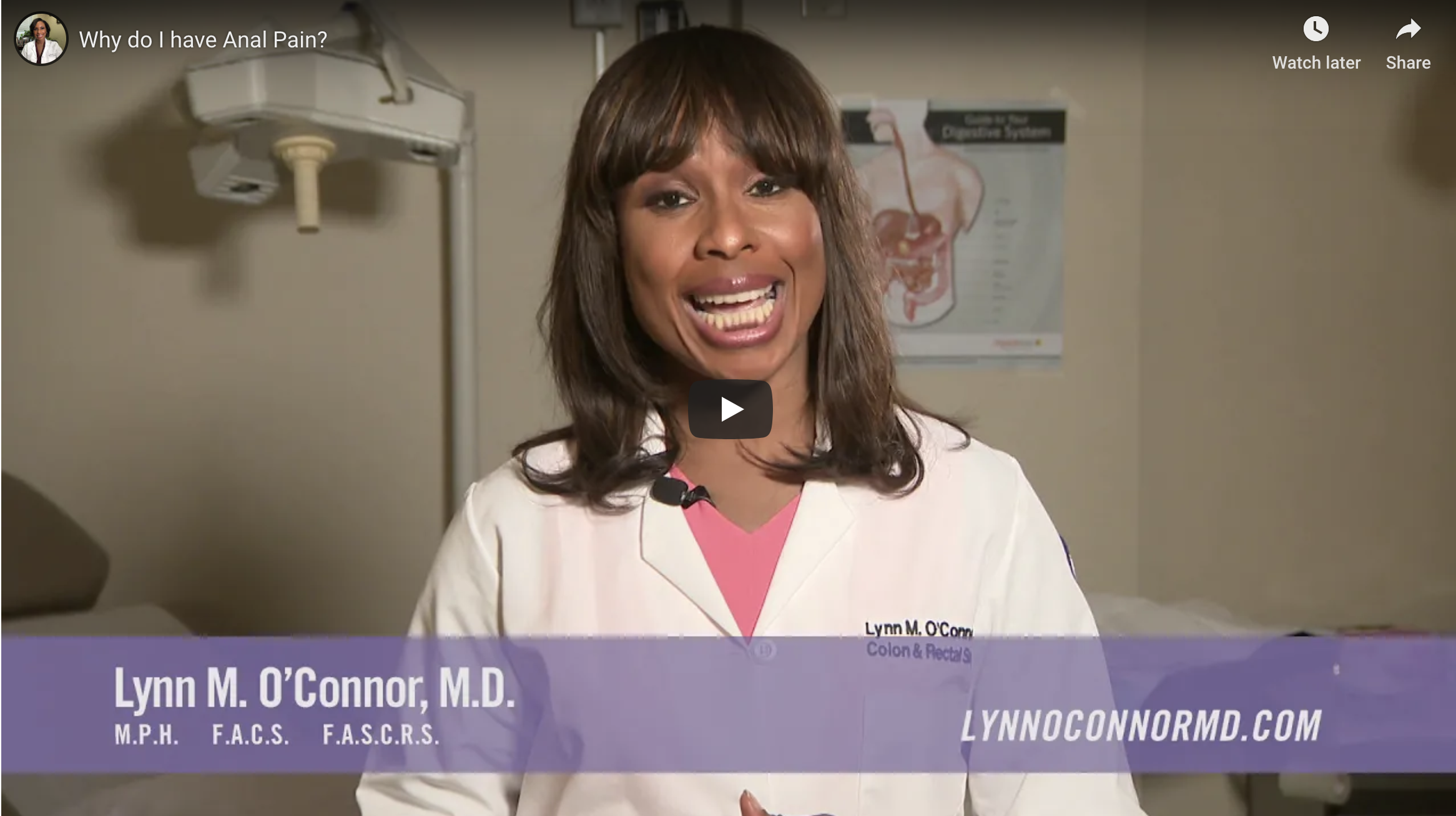 Video thumbnail of Dr. Lynn M. O'Connor.